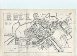 Oxford England Map by Oxford University Map Of Colleges Intriguing History