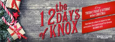 12 days of knox knoxville u0027s calgary calgary from 1 to 24 december