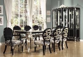 black dining room sets all black dining room set black formal dining room set