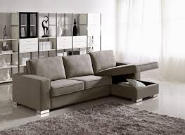 small espresso leather sectional couch with left chaise and track