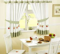 Green And White Kitchen Curtains Pretty Kitchen Curtains Square White Kitchen Cabinet Classic
