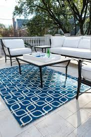 Contemporary Outdoor Rugs by Floor Rug Blue And White Outdoor Rug Dandelion Green 8x10 Sku