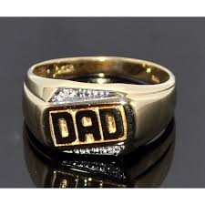 day ring ring mens diamond ring 0 02ct 10k gold fathers day