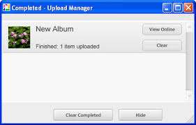 my photo album how do i create a web album in picasa images windows tech ease