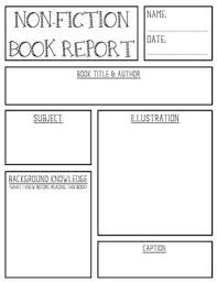 fiction book report template 9 images of non fiction book report poster template boatsee