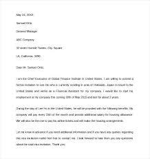 Wedding Invitation Letter For Us Visitor Visa invitation letter to visit usa invitation letter for visitor visa to