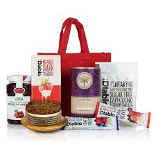 Diabetic Gift Basket Diabetic Jute Bag Diabetic Hamper