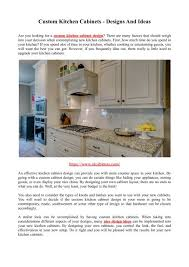 cabinet ends ideas custom kitchen cabinets designs and ideas