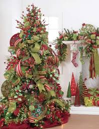 tree decorating ideas and green best images