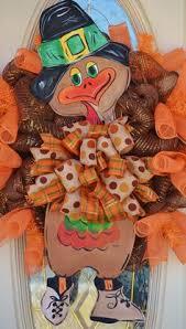turkey wreath i made fall crafts thanksgiving pumpkins