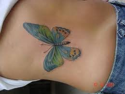 butterfly tattoos on ribs search tattoos