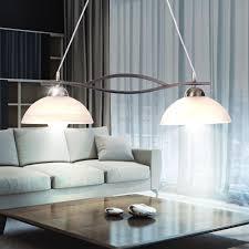 Esszimmer Lampe Amazon 19 Watt Led Decken Pendel Leuchte Hänge Lampe Alabasterglas Weiß