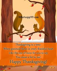 happy thanksgiving wishes for your boyfriend whatsapp99
