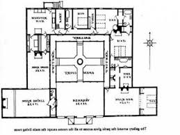 Courtyard Plans Baby Nursery Hacienda House Plans With Courtyard Home Design