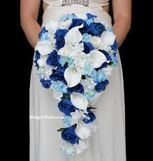 wedding flowers royal blue royal blue and orange wedding bouquets royal blue wedding flower
