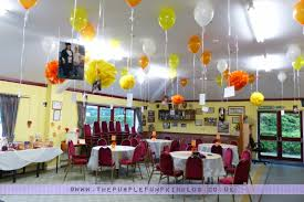 orange u0026 yellow 40th birthday party decorations