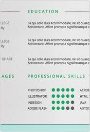 Free Indesign Resume Template 30 Best Professional Resume Templates Collection Web Creative All