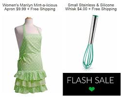 flirty aprons flash sale mint a licious apron tiny whisk with