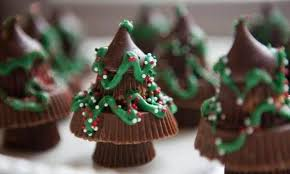 reese u0027s chocolate candy christmas trees recipe just a pinch