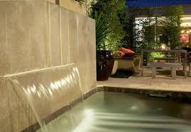 Backyard Feature Wall Ideas Two Modern Patio Ideas Turning Small Backyard Designs Into