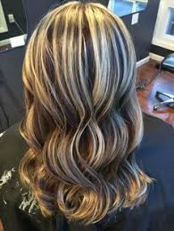 chocolate hair with platinum highlight pictures platinum icy blonde highlights with sandy brown lowlights hair