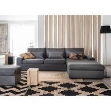 canap d angle la redoute idée agencement de canapé cuir beige avec méridienne