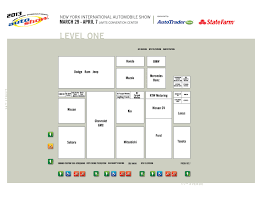 floor plans all about auto shows