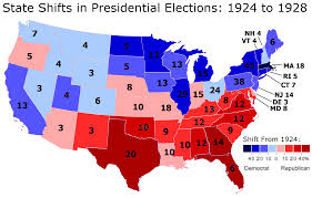 Presidential Election Map by The Great Realignment The 1928 Presidential Election Part 2