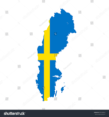 World Map Sweden by Sweden Map Flag White Background Stock Vector 543186853 Shutterstock