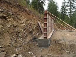 Concrete Retaining Walls Design Design Ideas - Concrete retaining walls design