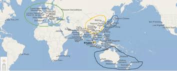 Lan Route Map by Singapore Airline Route Map 北美牧羊场