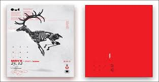 modern christmas cards 24 creative christmas cards for inspiration veckr modern christmas