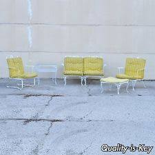 woodard wrought iron outdoor furniture sets ebay