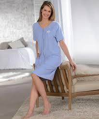 robe de chambre damart vogue damart robe de détente zippée myosotis robe de chambre femme