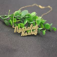 necklace store names images Buy gold color customized two names necklace two jpg