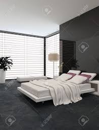 spacious modern bedroom with an adjustable double bed large