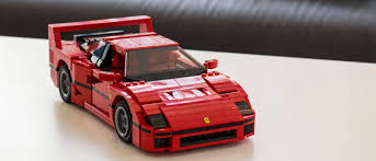 lego toyota i built a lego ferrari f40 and it u0027s stupidly awesome