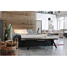 rex kralj rex small daybed bench natural brown black white