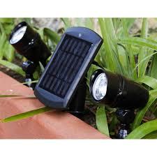 le de bureau leroy merlin lot de 2 spots solaire chili 48 lm noir inspire leroy merlin