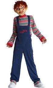 chucky costumes boys character costumes kids tv