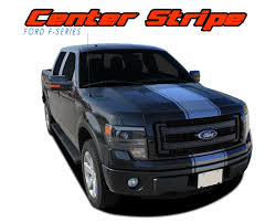 Ford F150 Truck Decals - ford f 150 hood striping vinyl graphic rally decal center stripe