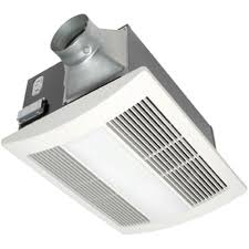 Panasonic Whisperwarm 110 Cfm Ceiling Exhaust Bath Fan With Light Bathroom Heat L Fixtures