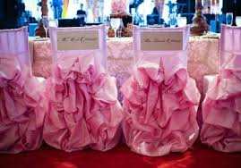 ruffled chair covers beautiful ruffled chair covers in pale pink create a soft