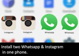 instagram apps for android dual whatsapp instagram two whatsapp two instagram accounts apps
