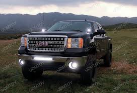 led lights for 2014 gmc sierra 07 14 chevy silverado gmc sierra 40w high power led pod light kit