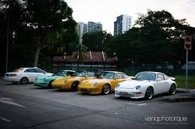 vintage porsche convertible exciting classic porsche and ferrari drive in singapore gtspirit