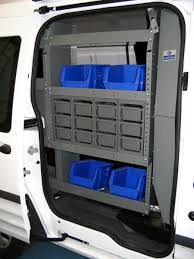 Ford Transit Connect Shelving by General Service Package For Transit Connect