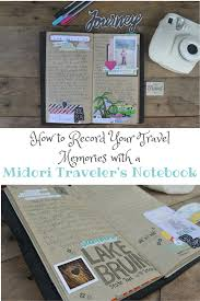 How to record your travel memories with a midori traveler 39 s