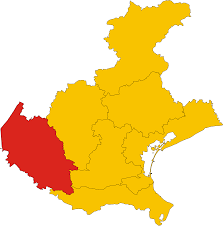 Map Of Verona Italy by File Map Of Province Of Verona Region Veneto Italy Svg
