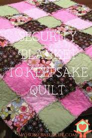 keepsake blankets what to do with your child s security blanket when they outgrow it